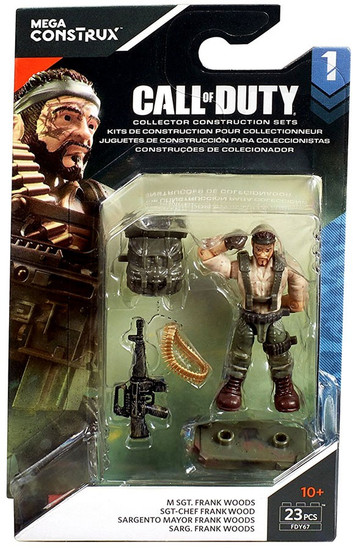 Call of Duty Specialists Series 1 M SGT. Frank Woods Mini Figure