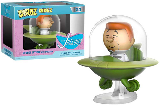 Funko Hanna-Barbera The Jetsons Dorbz Ridez George Jetson with Spaceship Exclusive Vinyl Collectible #24