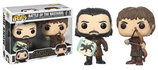 Funko Game of Thrones POP! TV Battle of the Bastards Vinyl Figure 2-Pack #2 [Jon Snow & Ramsay Bolton ]