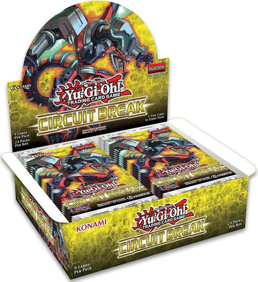 YuGiOh Trading Card Game Circuit Break Booster Box [24 Packs]