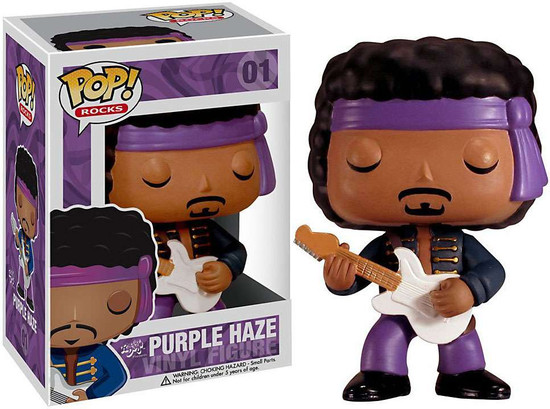 Funko POP! Rocks Purple Haze Jimi Hendrix Vinyl Figure #01