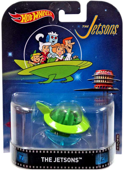 Hot Wheels HW Retro Entertainment The Jetsons Diecast Car