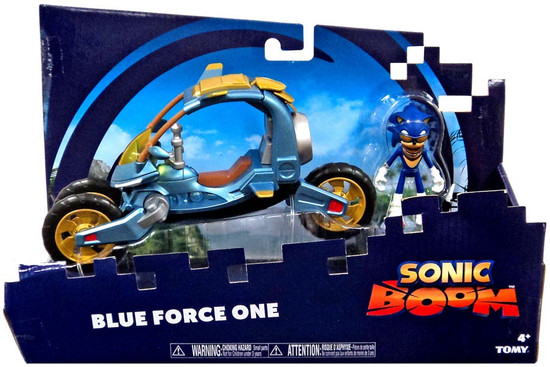 Sonic The Hedgehog Sonic Boom Blue Force One Action Figure & Vehicle