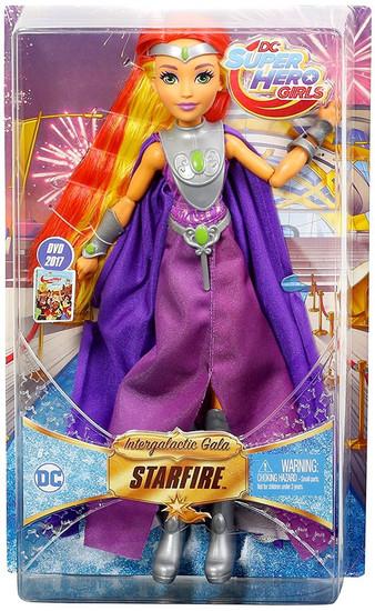 DC Super Hero Girls Intergalactic Gala Starfire 12-Inch Deluxe Doll