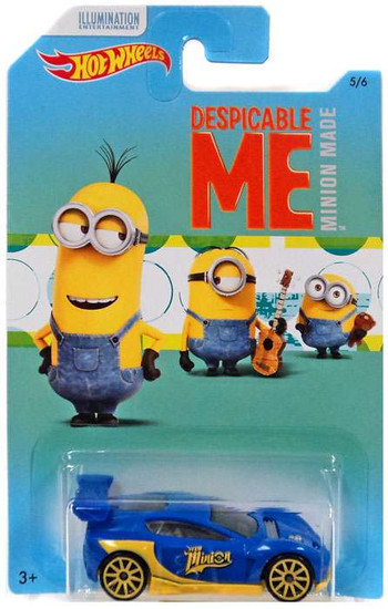 Hot Wheels Despicable Me Minion Made Synkro Die-Cast Car