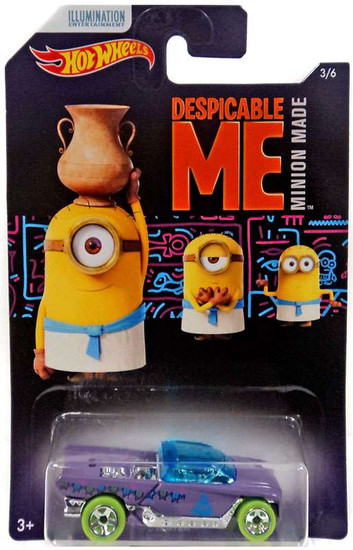 Hot Wheels Despicable Me Minion Made Jester Diecast Car