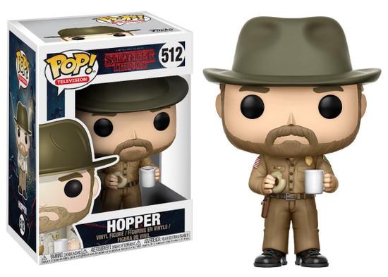 Funko Stranger Things POP! TV Hopper with Donut Vinyl Figure #512 [Regular Version, With Hat]