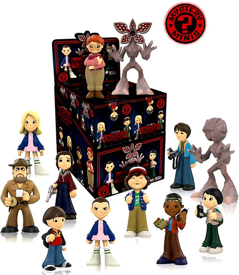 Funko Mystery Minis Stranger Things Mystery Box [12 Packs]