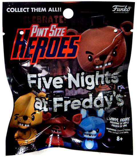 Funko Five Nights at Freddy's Pint Size Heroes Series 1 Exclusive Mystery Pack [Exclusive Version]