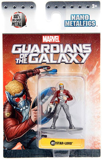 Marvel Guardians of the Galaxy Nano Metalfigs Star-Lord 1.5-Inch Diecast Figure MV5