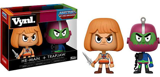 Funko Masters of the Universe Vynl. He-Man & Trapjaw Vinyl Figure 2-Pack