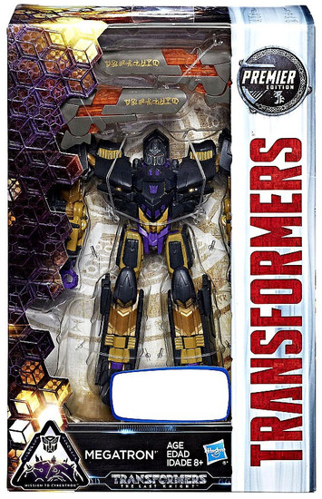 Transformers The Last Knight Premier Deluxe Megatron Exclusive Deluxe Action Figure