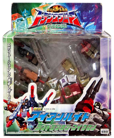 Transformers Armada Ironhide & Minicons Action Figure MS-03 [Damaged Package]