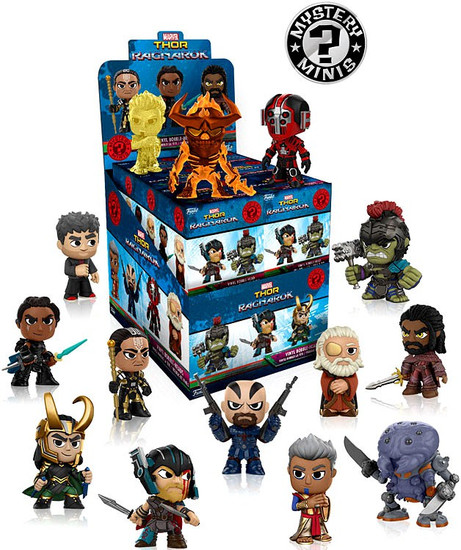 Funko Marvel Mystery Minis Thor: Ragnarok Mystery Box [12 Packs]