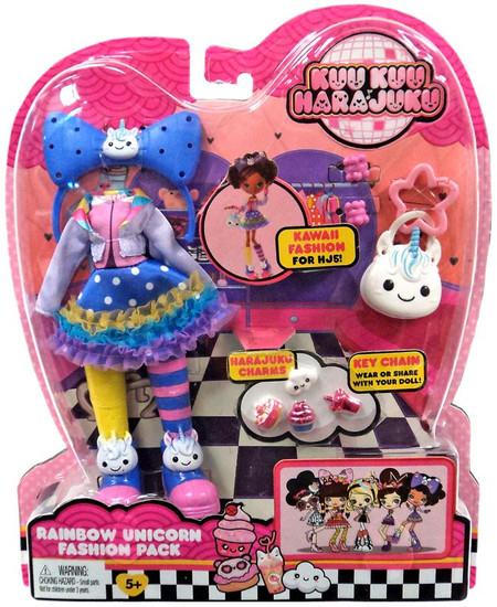 Kuu Kuu Harajuku Rainbow Unicorn Fashion Pack