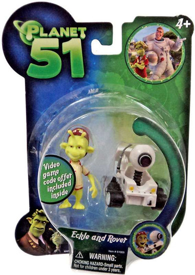 Planet 51 Eckle & Rover Mini Figure 2-Pack