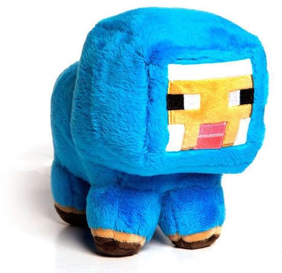 Minecraft Small Baby Blue Sheep 7-Inch Plush