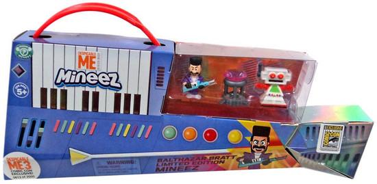 Despicable Me 3 Mineez Balthazar Bratt, Clive & Dumont Diamond Exclusive Figure 3-Pack [Limited Edition Set]