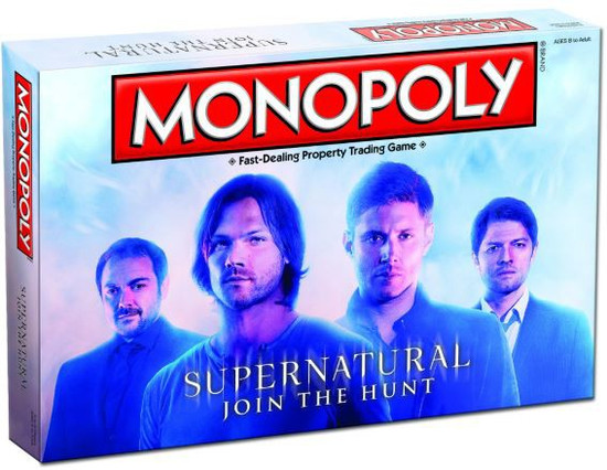 Monopoly Supernatural Board Game [Collector's Edition]
