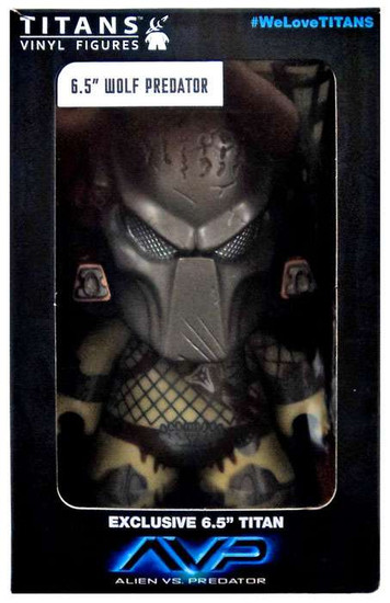 Alien vs Predator Wolf Predator Exclusive 6.5-Inch Vinyl Figure