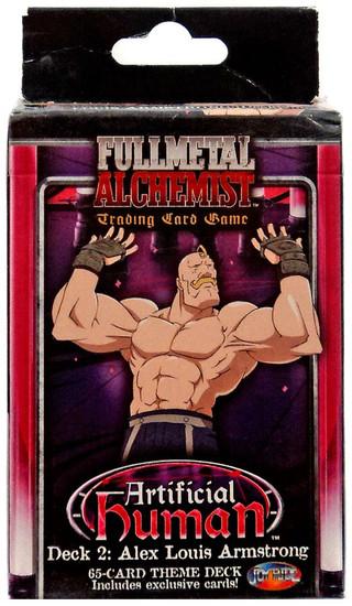 Fullmetal Alchemist Trading Card Game Artificial Human 2: Alex Louis Armstrong Theme Deck