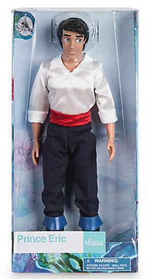 Disney The Little Mermaid Prince Eric Exclusive 11.5-Inch Doll
