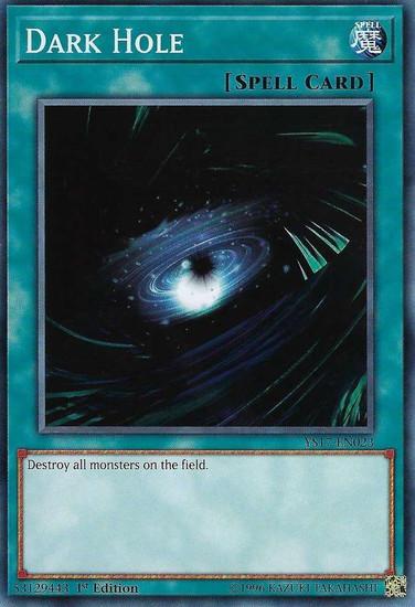 YuGiOh Starter Deck: Link Strike Common Dark Hole YS17-EN023