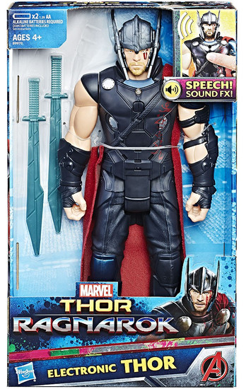Marvel Thor: Ragnarok Thor Electronic Action Figure