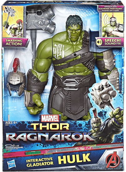 Marvel Thor: Ragnarok Hulk Interactive Electronic Action Figure [Gladiator]