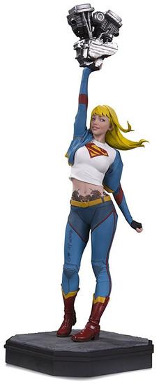 DC Gotham City Garage Supergirl Statue