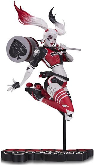 Batman Harley Quinn Red, White & Black Harley Quinn Statue [Babs Tarr]