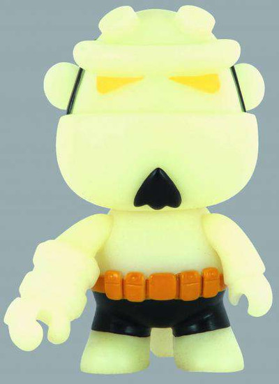 Qee Hellboy 5-Inch Deluxe Mini Figure [Glow in the Dark]