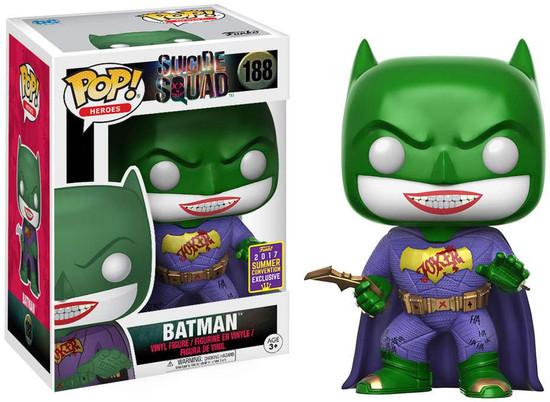 Funko Suicide Squad POP! Movies Joker Batman Exclusive Vinyl Figure #188
