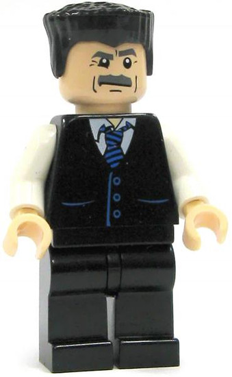 LEGO Spider-Man J. Jonah Jameson Minifigure [Black Vest Loose]