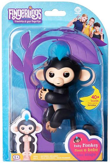 Fingerlings Baby Monkey Finn Figure