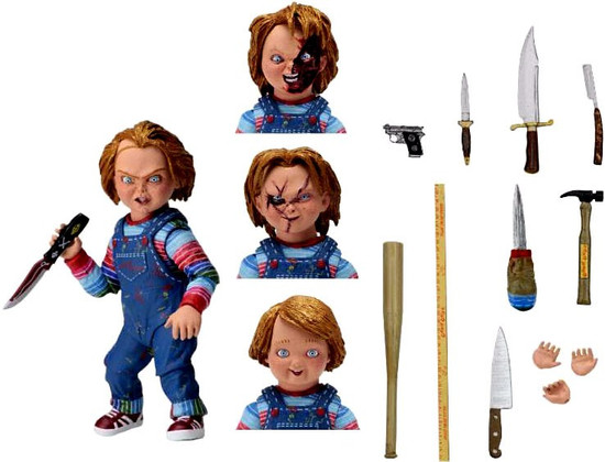 NECA Child's Play Chucky Action Figure [Ultimate Version]