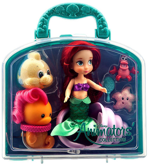 Disney The Little Mermaid Animators' Collection Ariel Exclusive 5-Inch Mini Doll Playset [2017]