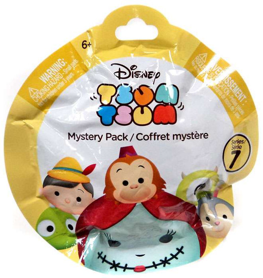Disney Tsum Tsum Series 7 Mystery Stack Pack [1 RANDOM Figure]