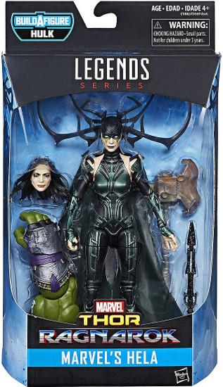 Thor: Ragnarok Marvel Legends Hulk Series Hela Action Figure