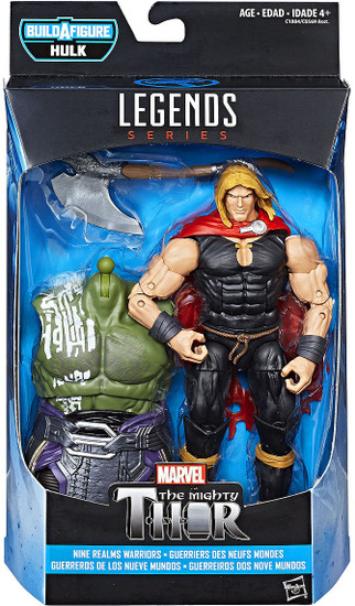 Thor: Ragnarok Marvel Legends Hulk Series Odinson Action Figure [Nine Realms Warriors]