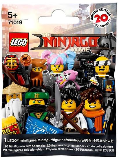LEGO Minifigures The Ninjago Movie Series Mystery Pack #71019 [1 RANDOM Figure]