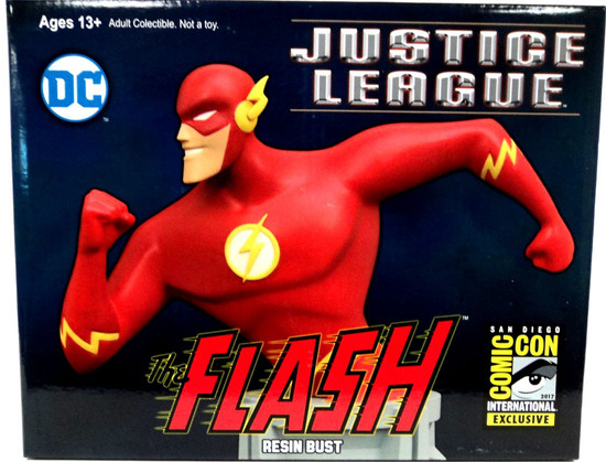 DC Justice League The Flash 6-Inch Bust