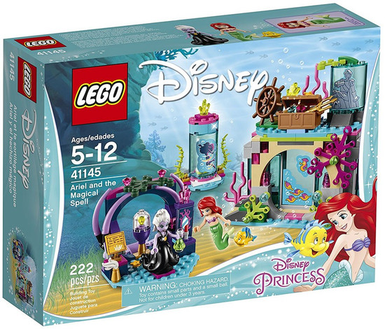 LEGO Disney Princess Ariel and the Magical Spell Set #41145
