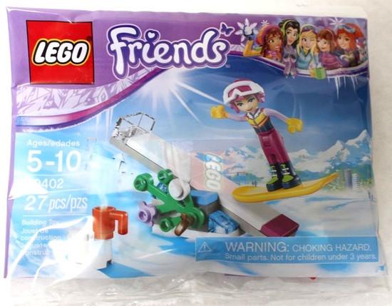 LEGO Friends Snowboard Tricks Mini Set #30402 [Bagged]