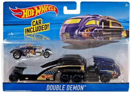 Hot Wheels Double Demon Die-Cast Car