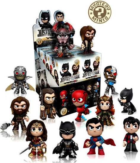 Funko DC Mystery Minis Justice League Mystery Box [12 Packs]
