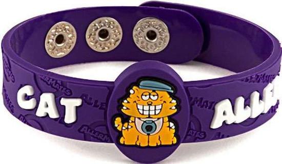AllerMates Cat Allergy Awareness Wristband