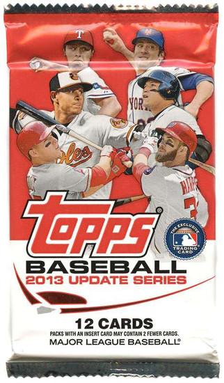 MLB Topps 2013 Update Baseball Trading Card RETAIL Pack
