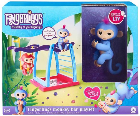 Fingerlings Monkey Bar Playset