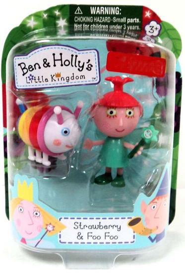 Ben & Holly's Little Kingdom Strawberry & Foo Foo Exclusive Mini Figure 2-Pack